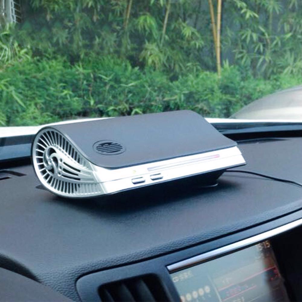 Car Air Purifier Auto Purification Portable Cleaner Ionic UV HEPA Ionizer Fresh