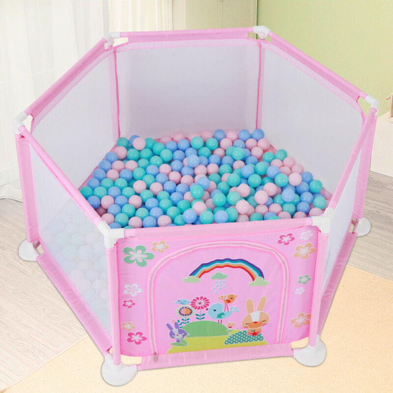 Kids Safety Playpen Toddler Play Yard Children Sea Ball Pool