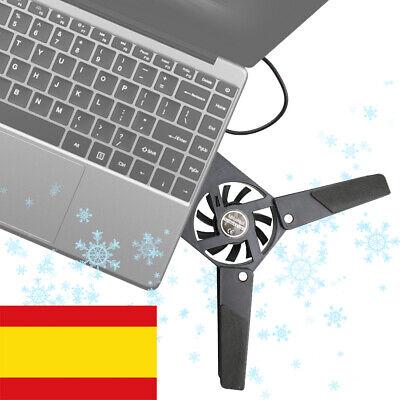 Mini Ventilador Notebook Plegable USB Base Refrigerador PC Portatil Ordenador