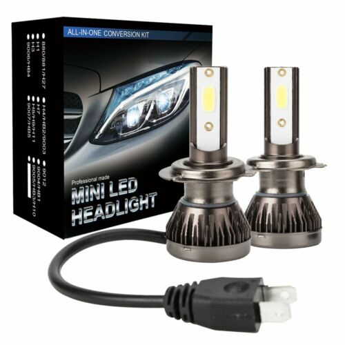 Car Parts - 2X 110W H7 LED Headlight CSP Chip Bulb Kit Canbus Error Free 30000LM White 6000K