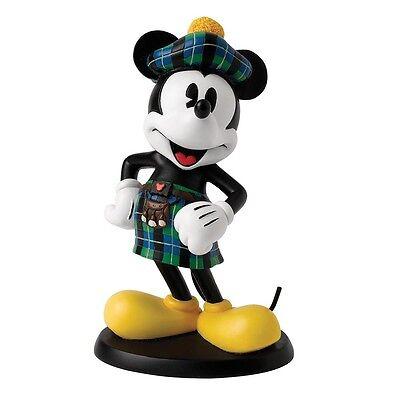 Disney Enchanting A27151 Scottish Mickey Mouse Figurine