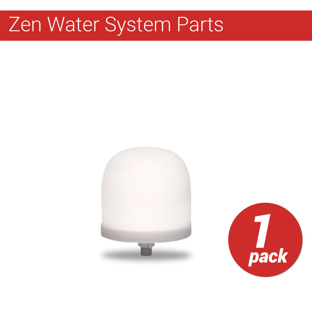 Zen Water System Replacement Ceramic Dome Water Filter 0.5 t