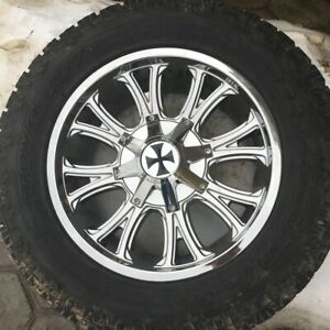 "20"" Toyo Tires and Rims"