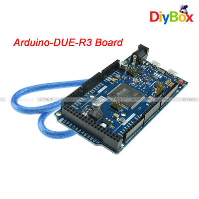 Due R3 Sam3x8e 32-bit Arm Cortex-m3 Control Board Moduleusb Cable For Arduino