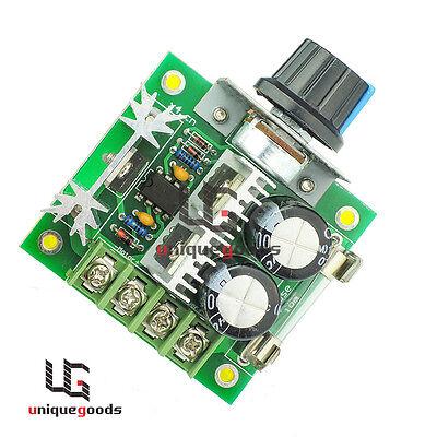12v-40v Pwm Dc Motor Speed Controller Adjustable Speed Driver Switch Regulator