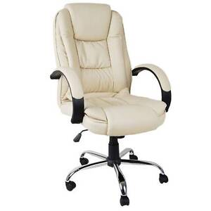 Deluxe PU Leather Computer Chair High Back Headrest Office Desk Sydney City Inner Sydney Preview