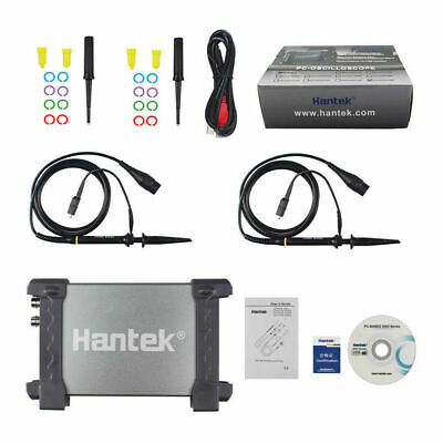 Hantek 6022be Storage 2ch Fft Pc Based Digital Oscilloscope Usb 48msas 20mhz