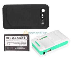Replacement Extended Battery + Charger for HTC G11 Incredible S 2 S710e