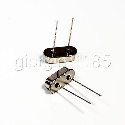 Us Stock 20pcs 7.3728mhz Hc-49s Crystal Oscillator Arduino Raspberry Breadboard