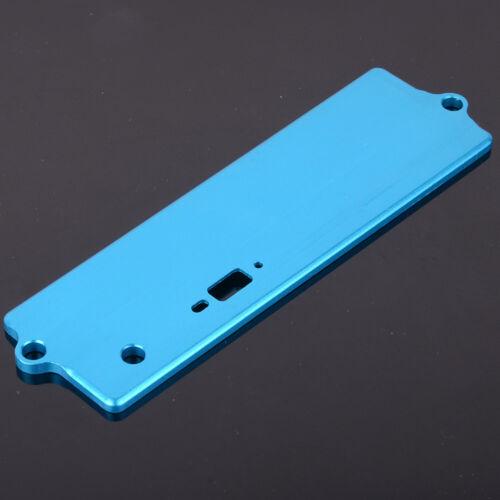 122064 Blue Aluminum Battery Case Top Cover HSP Upgrade Part