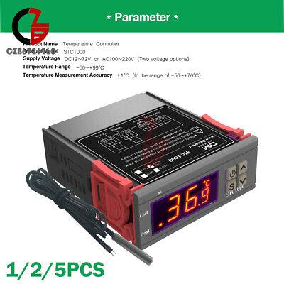 Stc-1000 Digital 110-220v Temperature Controller Thermostat Aquarium With Sensor