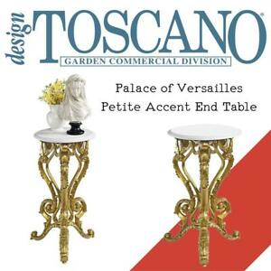 NEW Design Toscano Palace of Versailles Petite Accent End Table Condition: New