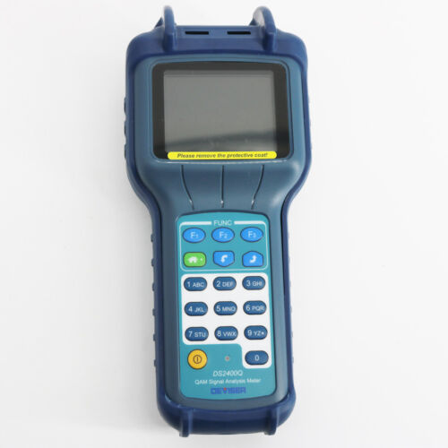 Deviser DS2400Q CATV QAM Signal Analysis Meter CATV Network Instrument
