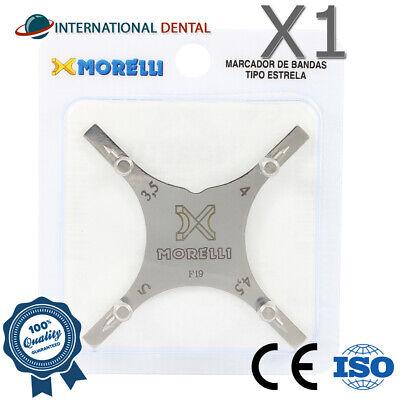 Orthodontic Dental Boone Bracket Gauge Positioning Star Instrument 3.5-5.0mm