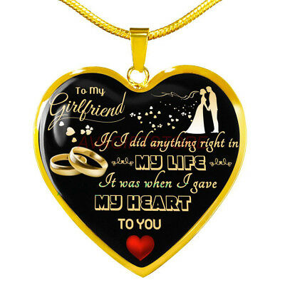 Luxury Necklace for Girlfriend Best Gift Idea for Lovers Anniversary Present (Best Jewelry Gifts For Lovers)