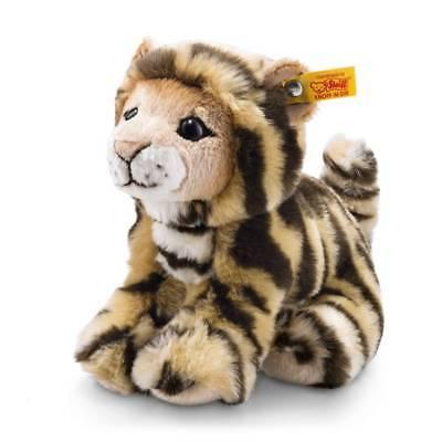 STEIFF 084102 Billy Tiger 20cm sitzend Granulat Wildtier