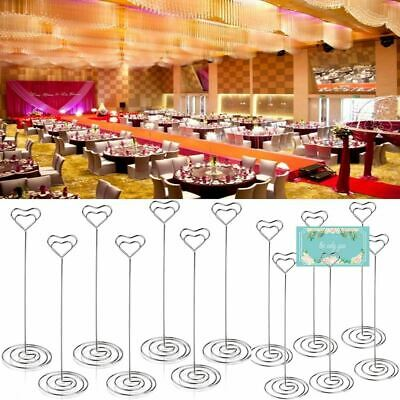 Wedding Name Cards (1-100Pcs Wedding Table Stand Number Place Name Memo Card Holder Party)