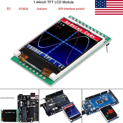 1.44 Tft 128x128 Spi Lcd Screen Module 51 Stm32 Arduino Routines For Arduino
