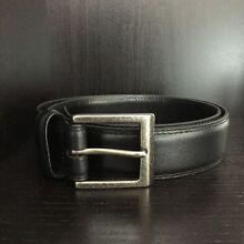 Sportscraft Leather Belt - Black Melbourne CBD Melbourne City Preview