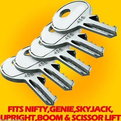 Genie Keyfits Scissor Liftboom Lifts Skyjackniftyupright5 455 Keys