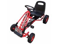 Toy car for kids pedal go kart toddler rubbler tyres bike fun boys perfect gift