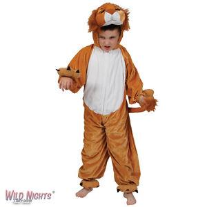 Childs Animal Costumes Zoo Farmyard Woodland Kids Fancy Dress Boys Girls Onesie