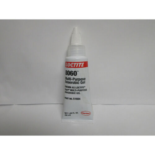 LOCTITE 51604-EXPIRED 8060 ANEROBIC GEL 50ML USE BY 10/19
