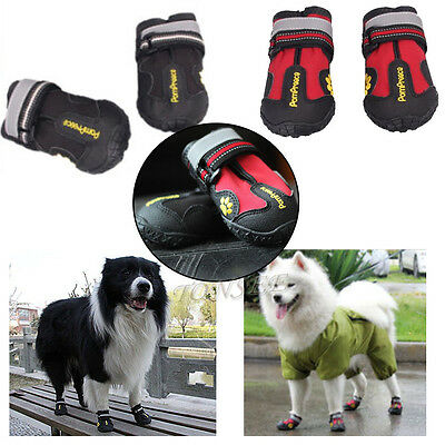 (Waterproof Anti Skid Dog Boots For Medium/Large Labrador Husky Shoes Pet Shoes)