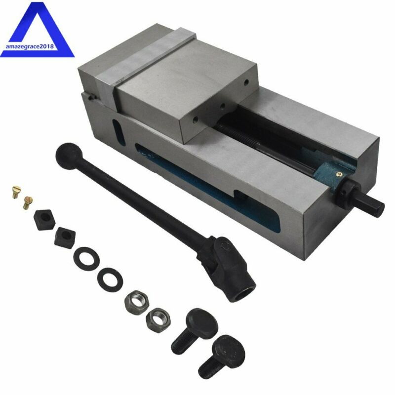 "6"" SUPER-LOCK PRECISION CNC VISE .0004"" NC/CNC MILLING NEW"