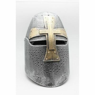 Helm Kreuzritter Templar Mittelalterliche Pentolare IN Kunststoff - Kind Tragbar