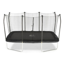 Plum 8ft X 14ft Rectangular Outdoor Trampoline With Enclosure Safety Net