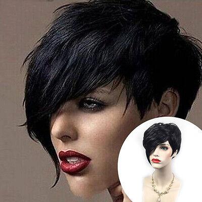Cosplay Partei-volle Perücke-Hitze-Kurzschluss-reizvolle schwarze gerade - Gerade Schwarze Perücke