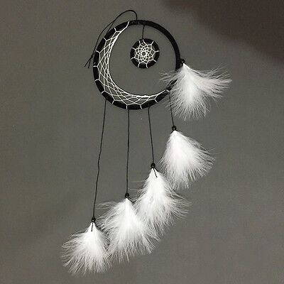 Retro Handmade Dream Catcher With Feathers Car Wall Hanging Decoration Ornament