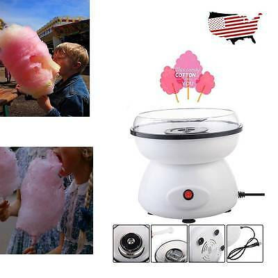 Home Mini Electric Cotton Candy Maker Sugar Floss Machine Countertop Carnival Ek