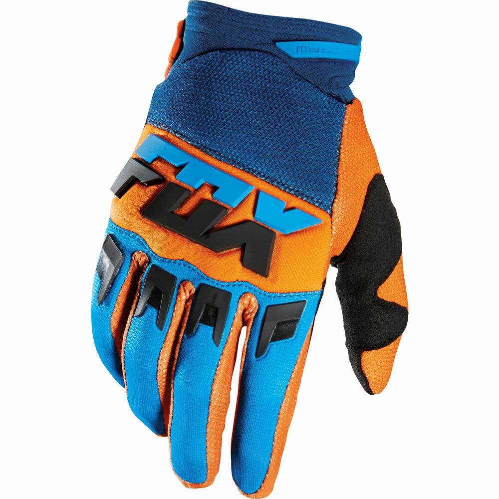 Gants Motocross Fox Racing Dirtpaw Mako Orange Enduro BMX Downhill MTB OUTLET