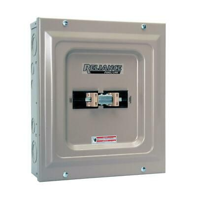 60 Amp Indoor Utility Generator Transfer Switch Double Pole 240 Volt Single Load