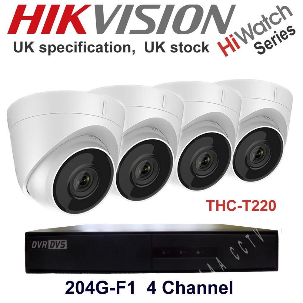 (Free Delivery4 Camera (Waterproof) System with 1 TB Storage Full HD 1080P. Complet with Cablesin Beeston, West Yorkshire - Complete Hikvision 4 Camera System. It is a Full HD System with 1080P of Resolution. Great Night Vision. Cameras are waterproof. 1 TB Hard Drive installed. Cheapest deal for Hikvision. Free delivery in West Yorkshire. Watch on your smartphone from...