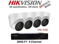 (Free Delivery!) 4 Camera (Waterproof) System with 1 TB Storage Full HD 1080P. Complet with Cables