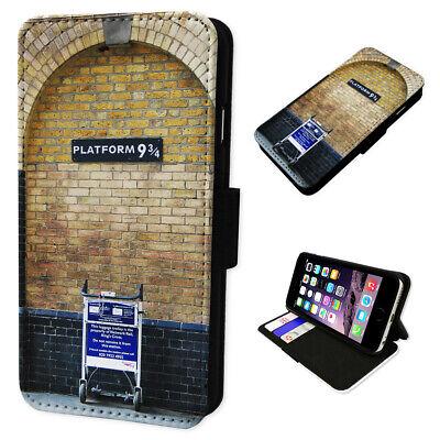 Harry Potter Station - Flip Phone Case Wallet Cover Fits Samsung & Iphone Models
