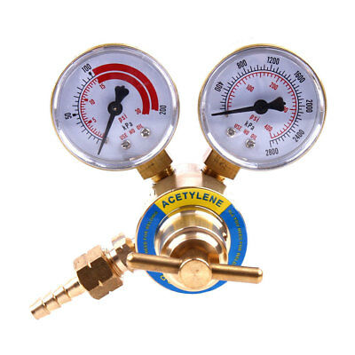Acetylene Torch Regulator Welder Gas Welding Cutting Pressure Gauge 2 Cga 200