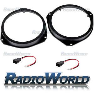 Vauxhall Astra H / Corsa D Speaker Adaptor Rings Front Doors 6.5
