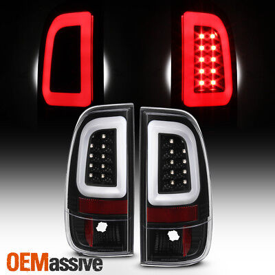 Ford F550 Super Duty Tail (Fits 97-03 Ford F150 | 99-07 F250/F350/F450/F550 Super Duty Tail Lights Black )