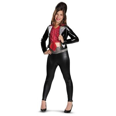 McKenzie Biker Deluxe Girls Costume Teen Beach Movie - Teen Beach Biker