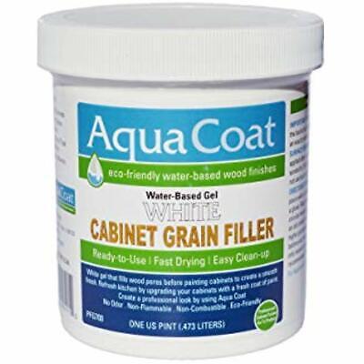 Aqua Coat, Best White Cabinet Wood Grain Filler, Gel, Water Based, Low Odor,