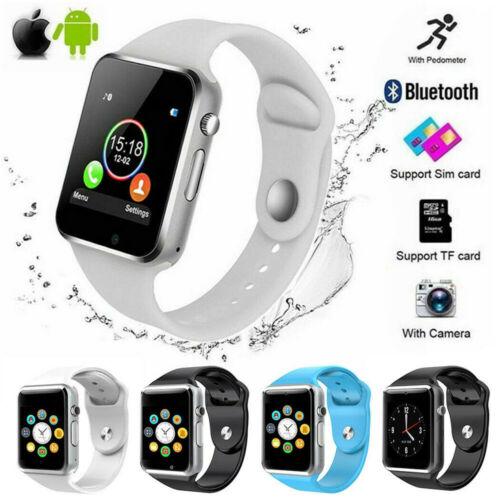 Bluetooth Smart Watch With GPRS Tracker camera SIM Card phon