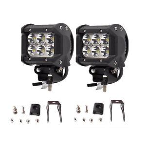 4 led light bar ebay 2x 4inch 36w cree led work light bar spot offroad atv fog truck lamp 4wd 12v aloadofball Choice Image