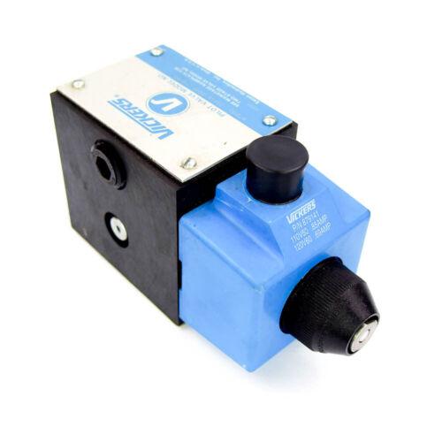 Eaton Vickers Hydraulic Control Valve 879152 DG4S4 0131B U B 60