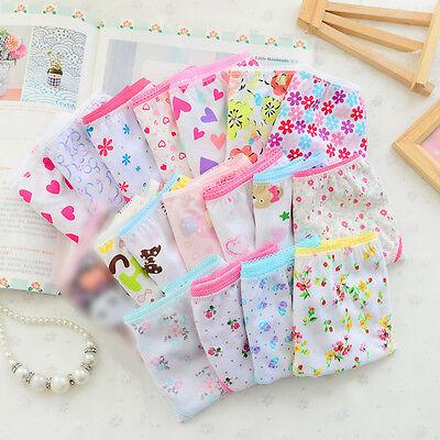 6pcs/pack New Baby Girls Underwear Cotton Panties Kids Short
