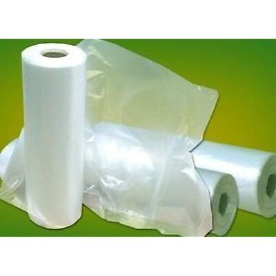 Plastic Bag-clear Reusable Grocery Bags Hdpe Produce Rolls 10x15 11 Mic 0.44