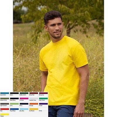 Großer Mann, Kurze (10 x T-Shirt Shirts Herren Mann Kurzarm Fruit of the loom Full Cut Original T)